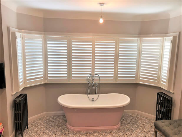 full height shutters tunbridge wells bathrrom