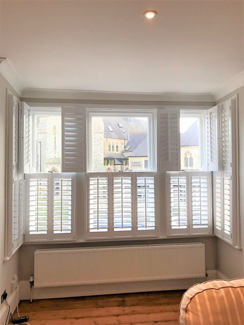 tier on tier living room shutters east dulwich 2