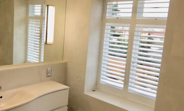 Full Height Bathroom Shutters for Property in Richmond, London