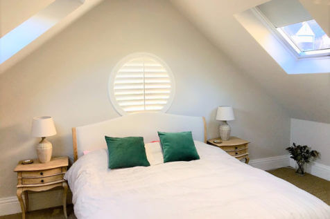 Special Shape Shutters for Garage Loft Conversion in Aylesford, Tonbridge and Malling