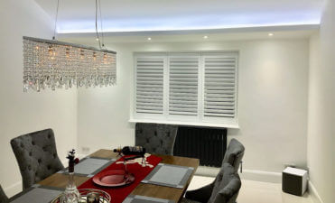 The Perfect Shutters for your Dining Room