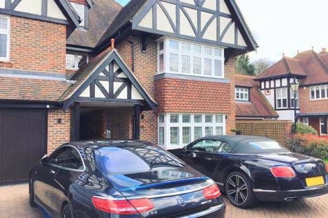 Full Height Antigua Shutters for Property in Beckenham, Kent