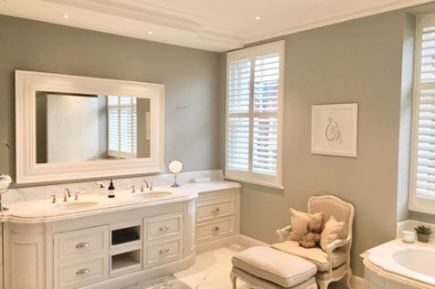 Bathroom Shutters for Property in Wandsworth, London