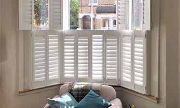 Bi-Folding Tier on Tier Shutters for Property in Lewisham, London