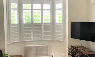 Full Height Fiji Shutters for Property in Purely, Surrey