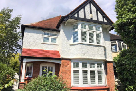 Transformation of Home with Full Height Fiji Shutters in Ealing, London