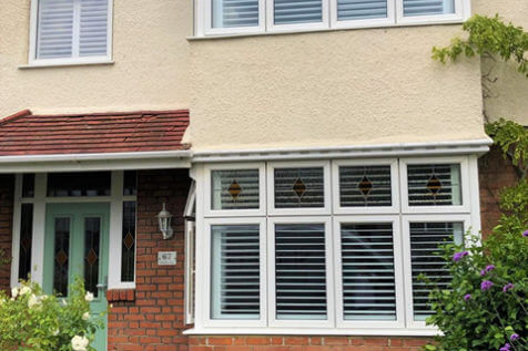 Window Shutters for multiple rooms of Home in New Eltham, London