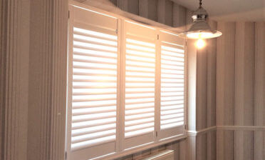 Antigua Shutters for Multiple Rooms of Home in Horley, Surrey