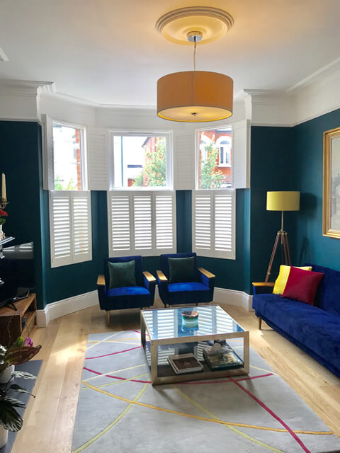 bi folding tier on tier shutters hammersmith london