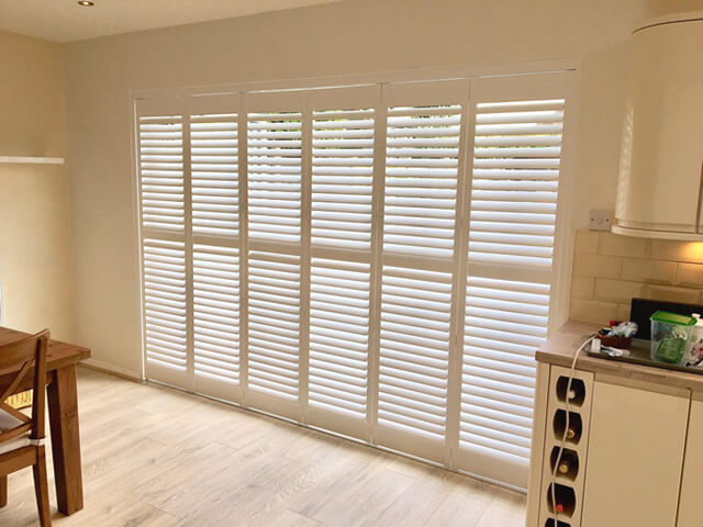 bifold patio door shutters morden surrey 1
