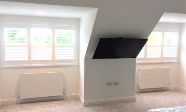 Fiji Hardwood Shutters for Home Renovation in Beckenham, Kent