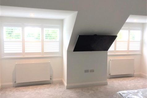 Fiji Hardwood Shutters for Home Renovation in Beckenham, Kent