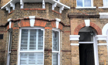 Tier on Tier Shutters for Property in Richmond, London
