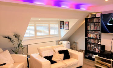Full Height Antigua Shutters for Home in Redhill, Surrey