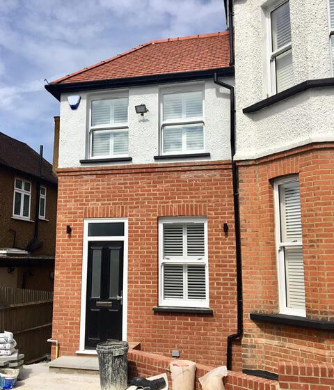 shutters for home renovation beckenham kent closeup