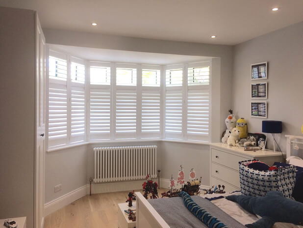 Bedroom Shutters for Property in Brixton, Lambeth