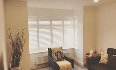 Full Height Shutters for Multiple Rooms of Property in Burham, Kent