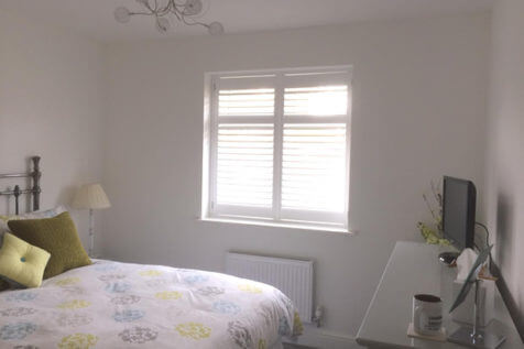 Full Height Shutters for Retirement Home in Weybridge, Surrey