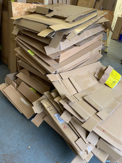 cardboard baling 2