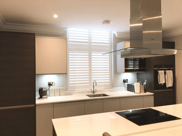 kitchen diner shutters addlestone surrey 2