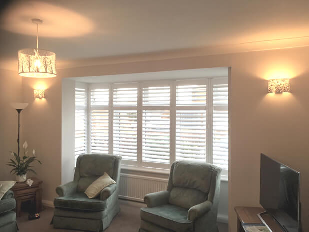 living room bay window shutters northfleet kent 2