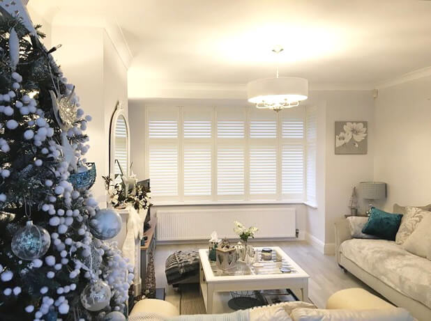 living room bay window shutters oxted surrey 1