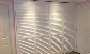 Wardrobe Shutters for Bedroom of Home in Cranbrook, Kent
