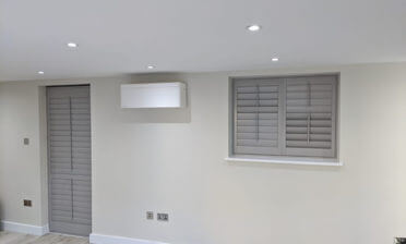 Door and Window Shutters for New Build Flat in Islington, London