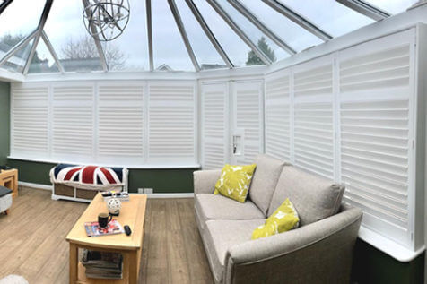 Conservatory Door and Window Shutters for Property in Maidstone, Kent
