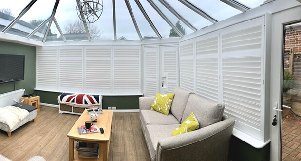 conservatory shutters maidstone kent 1