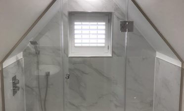 Waterproof ABS Shutters for Bathroom of Home in Orpington, Bromley