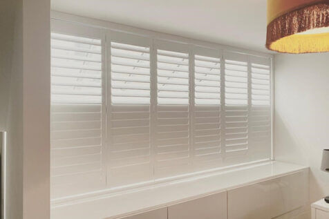 Blackout Shutters and Blind for opening of Flat in Purley, Surrey