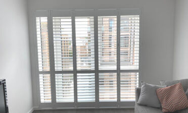 Door Shutters for Property in New Build Estate in Sidcup, Kent