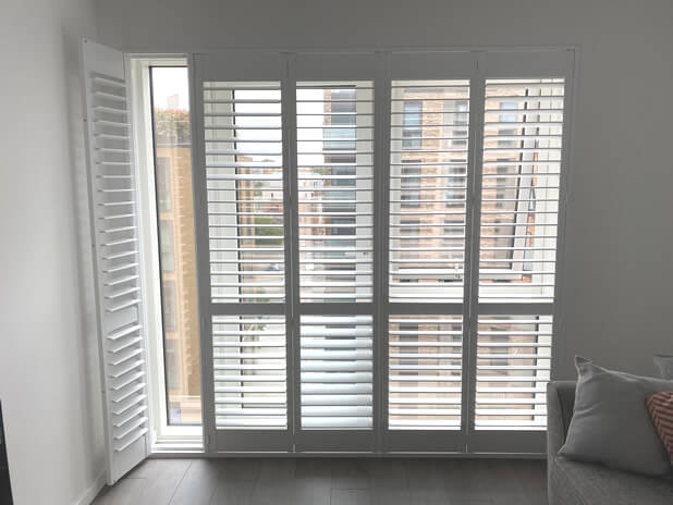 door shutters new build estate sidcup kent 2