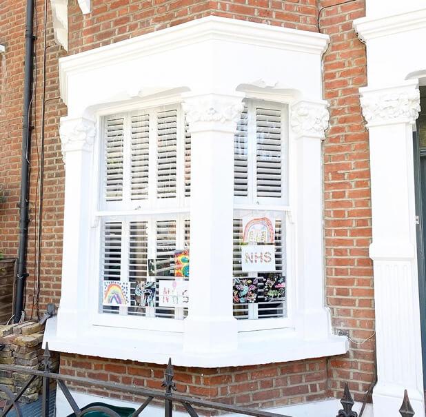 bay window tier on tier shutters east grinstead west sussex