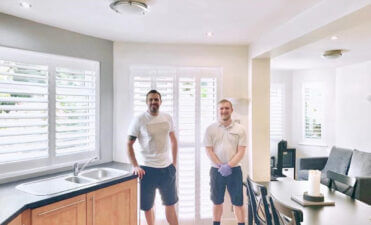 Plantation Shutters Installed for Jamie Lomas!
