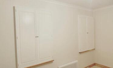 Solid Raised Shutters for Property in Clapham, London