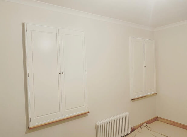 solid raised shutters clapham london