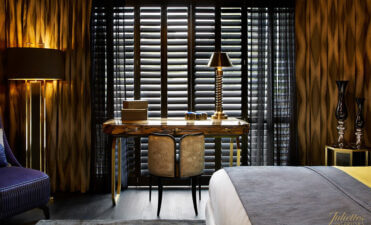 Plantation Shutters for Juliettes Interiors Showroom
