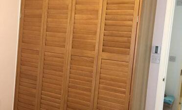 Wardrobe Shutters for Property in Croydon, Surrey