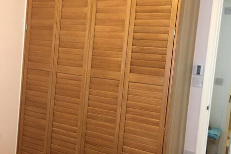 Wardrobe Shutters for Property in Croydon, Surrey