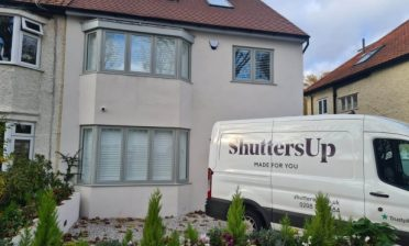 Full Height shutters throughout this home in Dartford, Kent