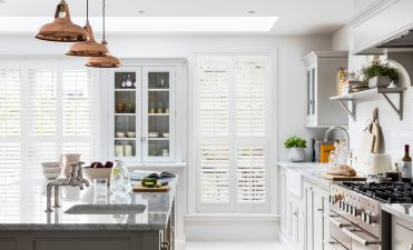 Should plantation shutters go on all windows of your house?