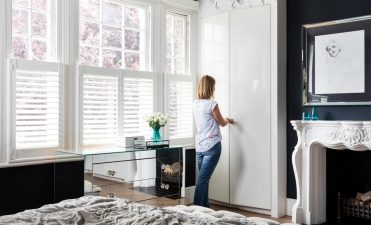How high should café style shutters be?